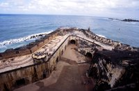 El Morro, View of Fort Wall