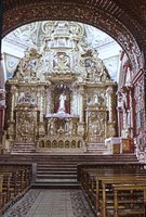 Santo Domingo, Quito, Chapel of the Rosary