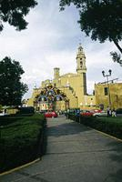 San Gabriel, Cholula, View from Plaza