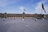 National Palace and Zócalo, Mexico City