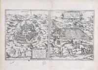 <i>Civitates orbis terrarum</i>, Maps of Mexico City and Cuzco
