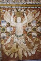 San Pedro Apóstol, Andahuaylillas, Mural, Angel