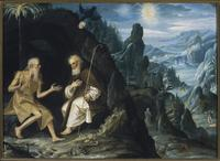 Saint Paul and Saint Anthony as Hermits