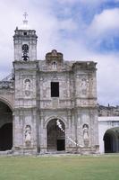San Pedro y San Pablo, Teposcolula, Detail of Façade