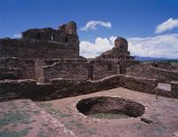 San Gregorio, Abó, with Kiva