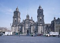 Cathedral, Mexico City, façade with Zcalo