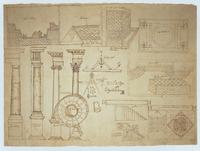 Architectural Drawing, reverse