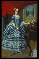 Portrait, doña Mariana Belsunse y Salasar