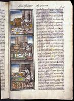Florentine Codex, Feather-working scenes
