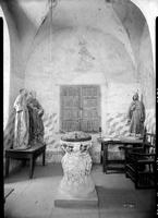 San Xavier del Bac, Tucson, West Wall, Baptistery