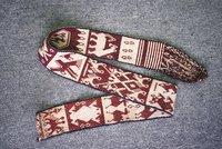 Woven belt with execution of Tupac Amaru II