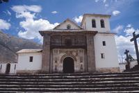 San Pedro Apóstol, Andahuaylillas, view of façade