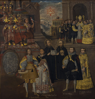 Union of the Inka Royal Family with the Houses of Loyola and Borgia