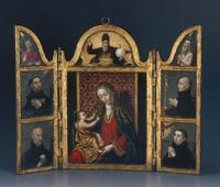 Virgin and Child with Jesuit Saints