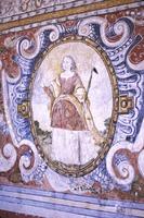 San Pedro Apóstol, Andahuaylillas, Mural, Female Martyr